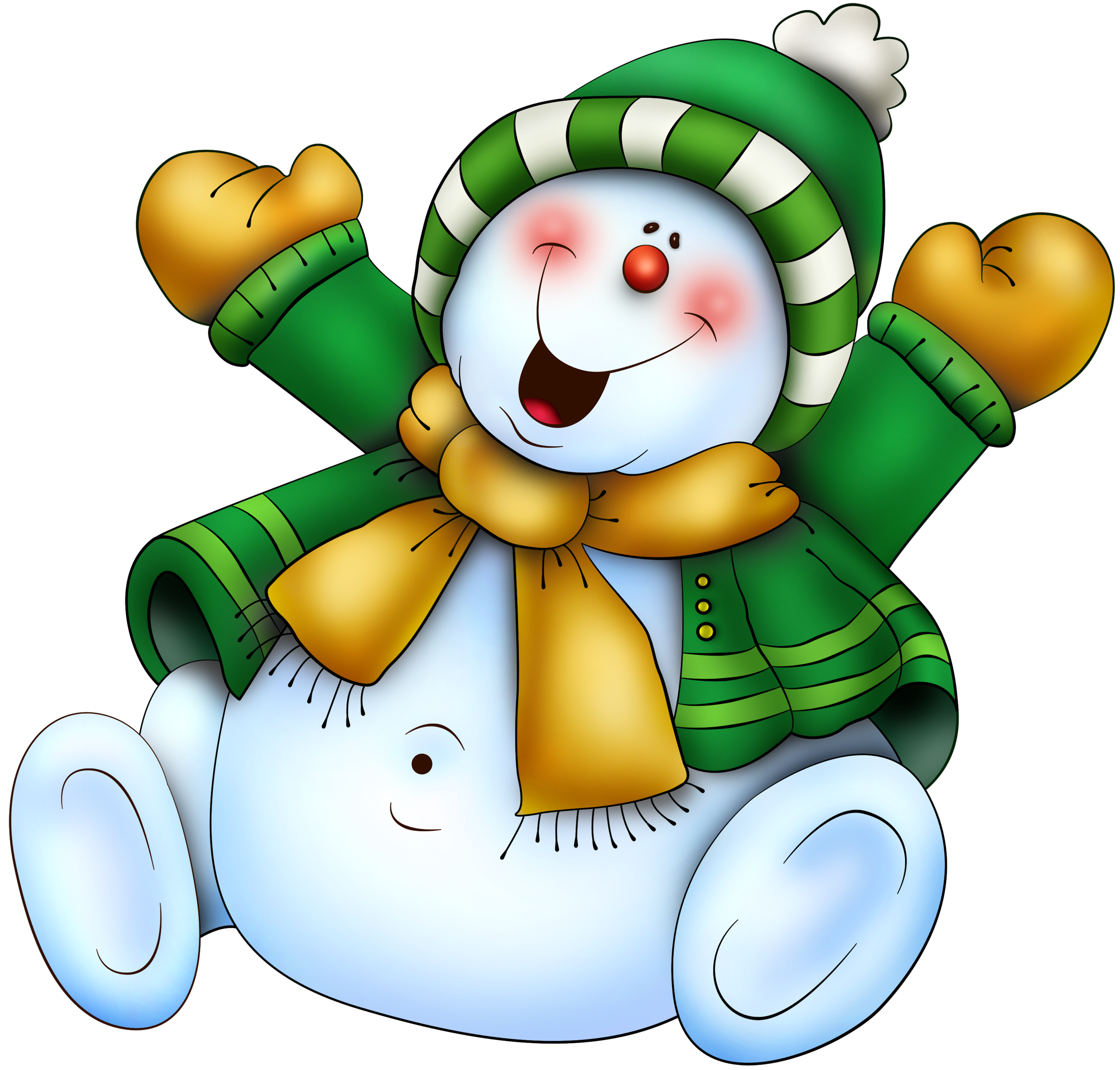 Muñeco de Nieve Pat117