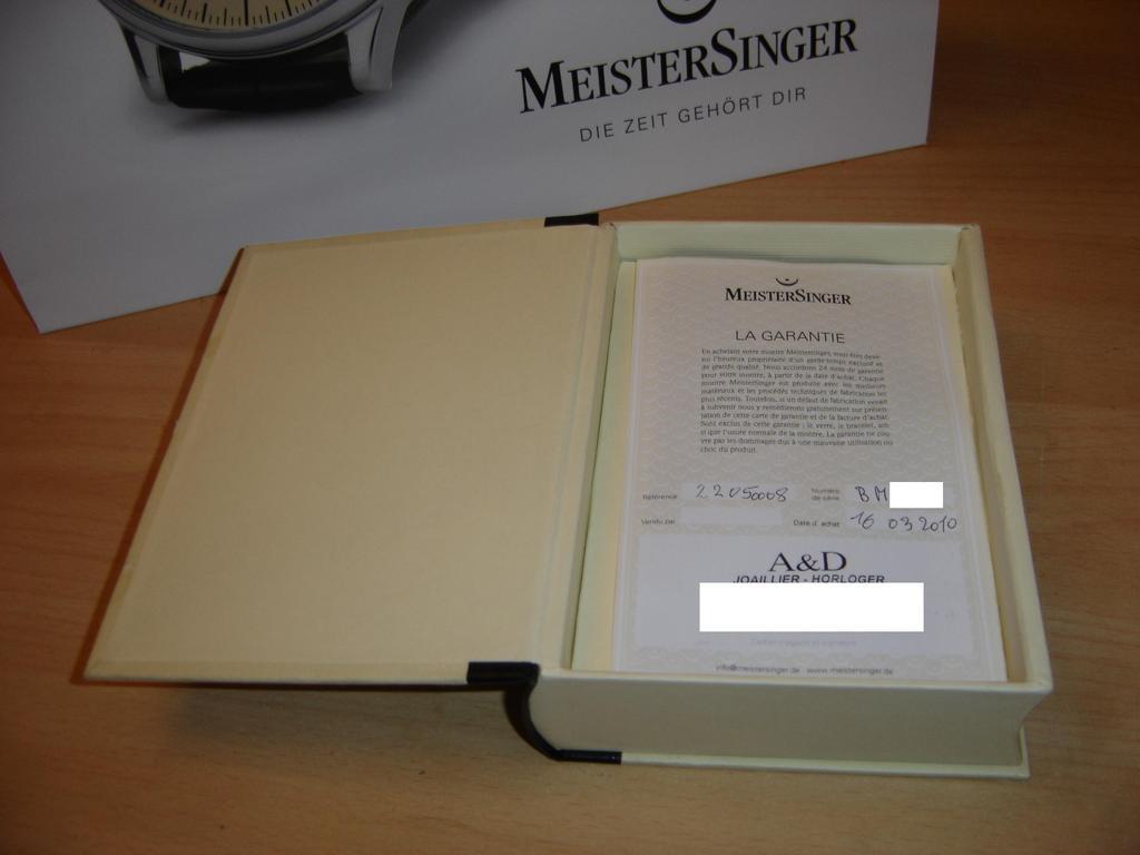 meistersinger - MeisterSinger n°1 : mini-revue avant la vraie... Dsc00135bl