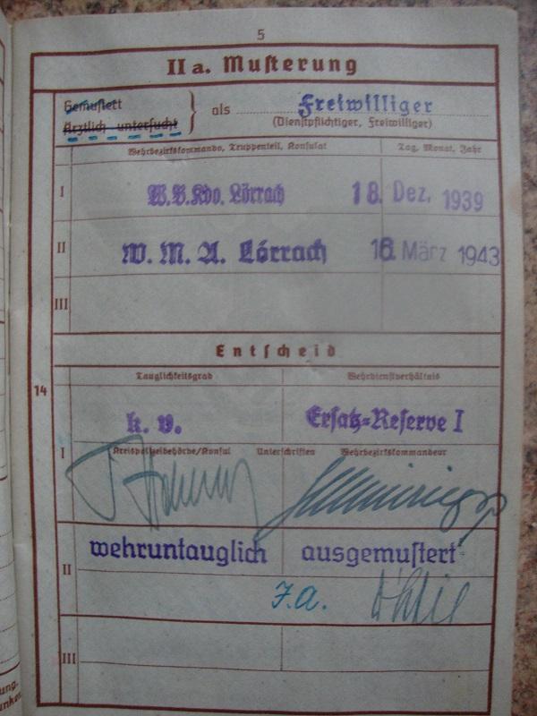 Traduction et identification d 'un Wehrpass et ses papiers Ec54