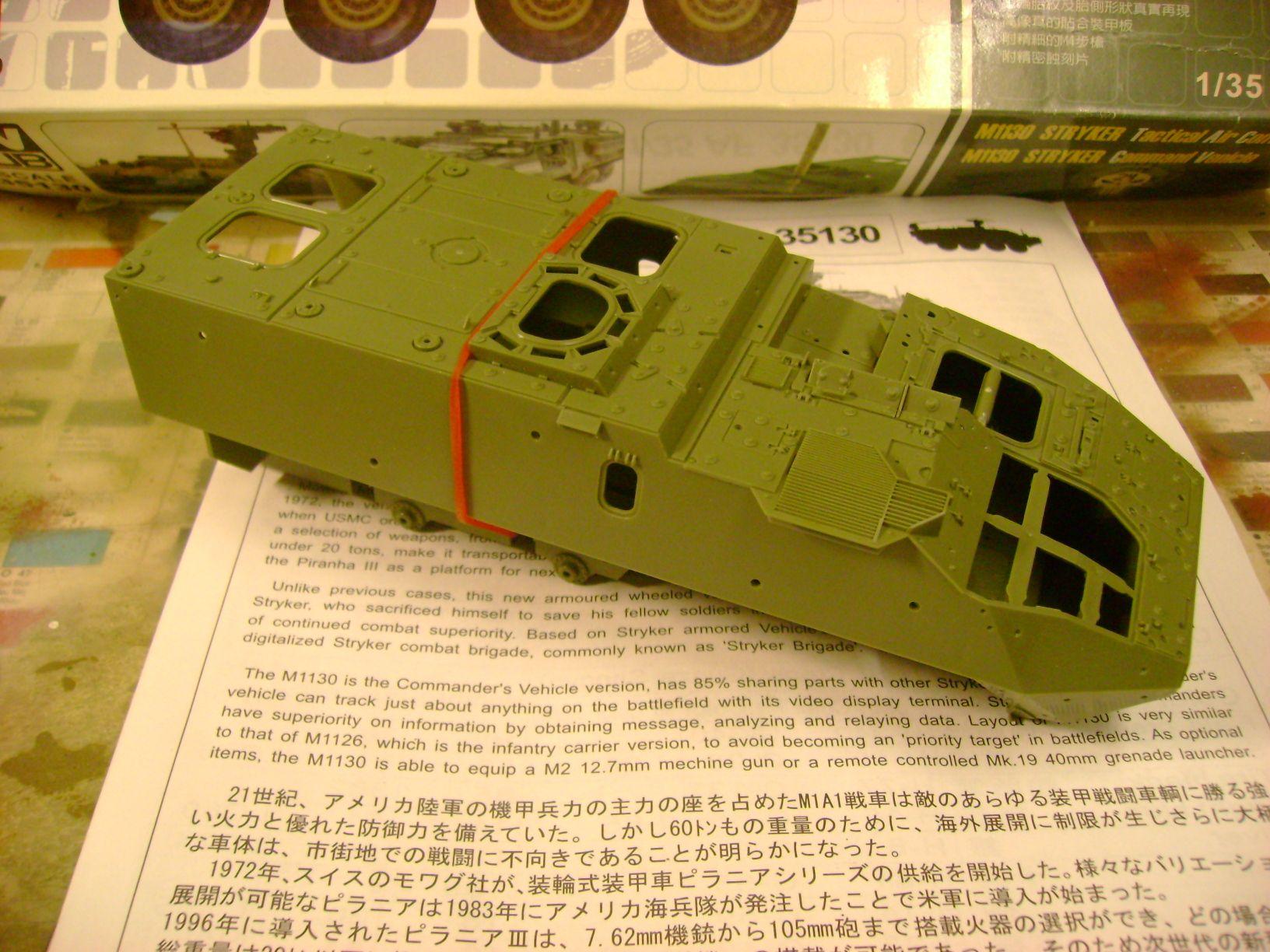 M1130 Stryker Commander's Vehicle, le Stryker de Tuche.....montage terminé.. 26559527