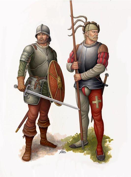 La batalla de Ceriñola (1503) S0gt