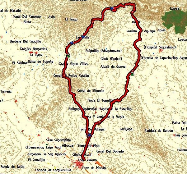 Ruta a CASTILLO DE LOARRE por Almudevar y vuelta por Sierra Estronad, Erla, Montes de Castejon. SABADO O DOMINGO C5kg