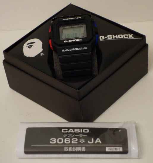 Presentacion Edicion Limitada G-5500 10AW BAPE 69426099