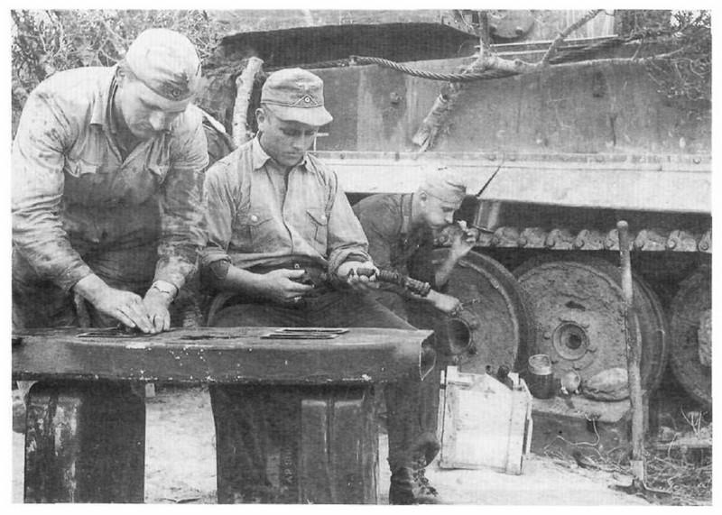 Tiger I du sPzAbt. 501 en Tunisie 1943 Tigerinr02spzabt501