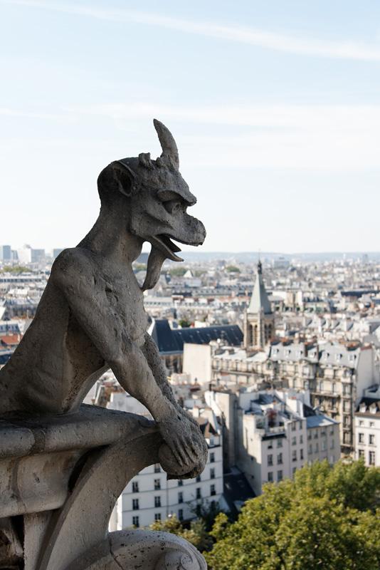 Chimères de Notre-Dame de Paris Img5279za0