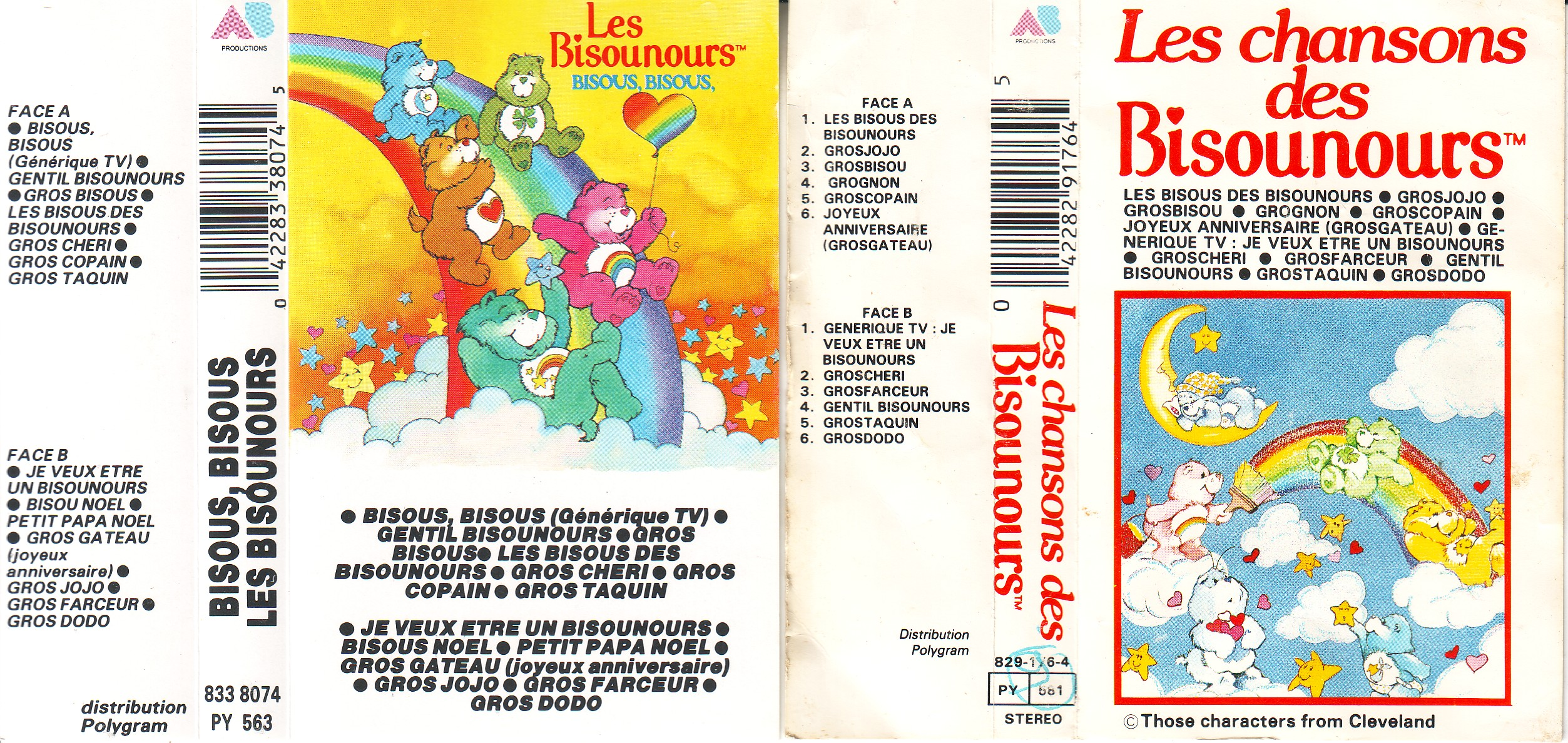 Dorothée et AB Productions K7ibousnours