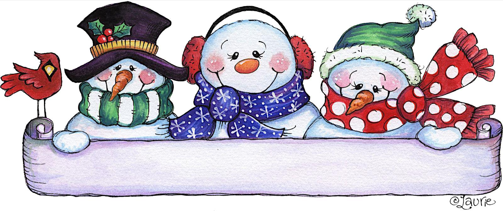 Muñecos de Nieve G82w