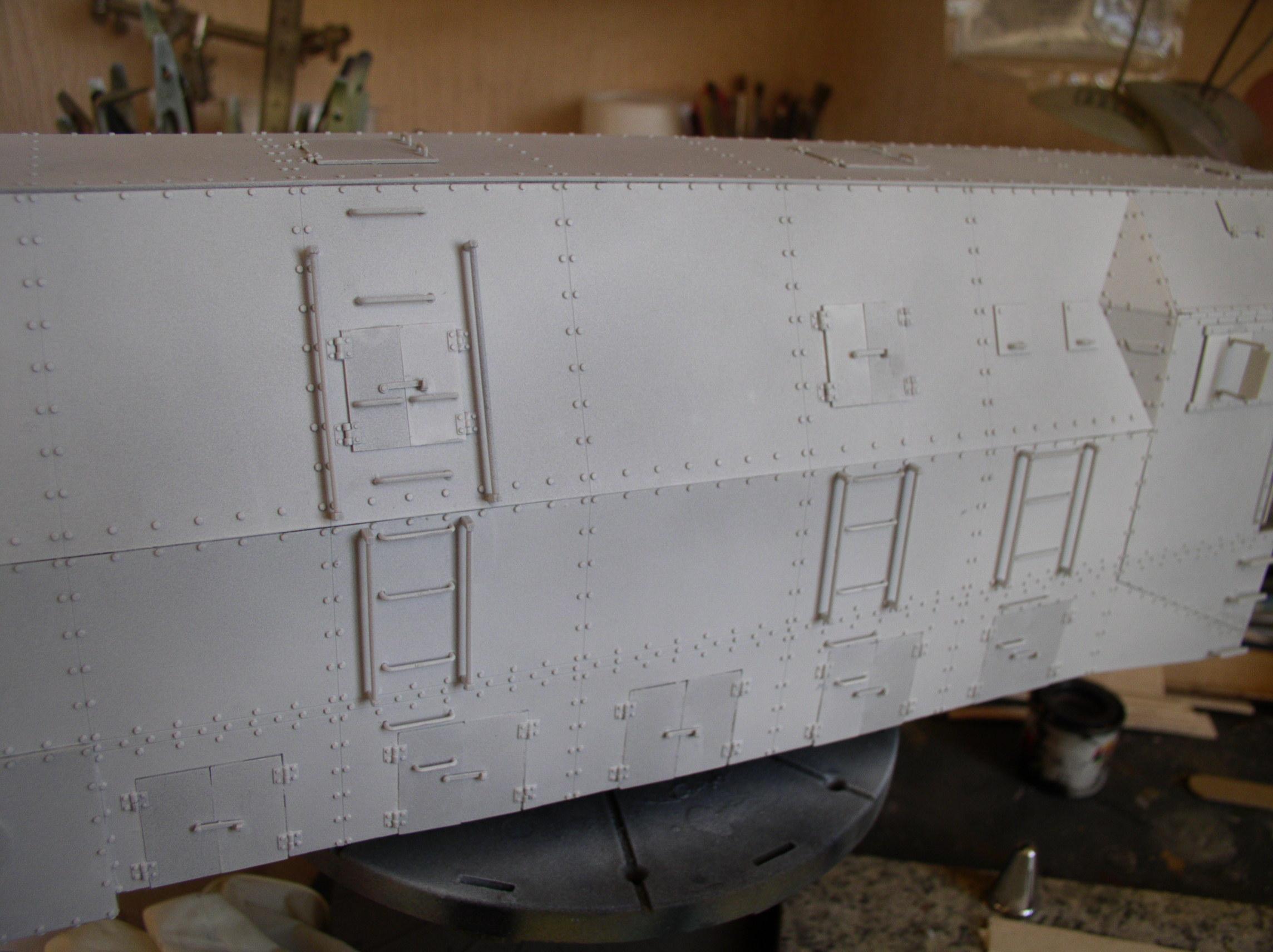 peinture - (Thunderbird) BR 57 Baureihe Panzerlok (Peinture en cours)  - Page 2 83372574