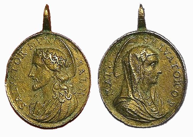Recopilación medallas con el Rostro de Cristo ( Salvator Mvndi II) Bn9z