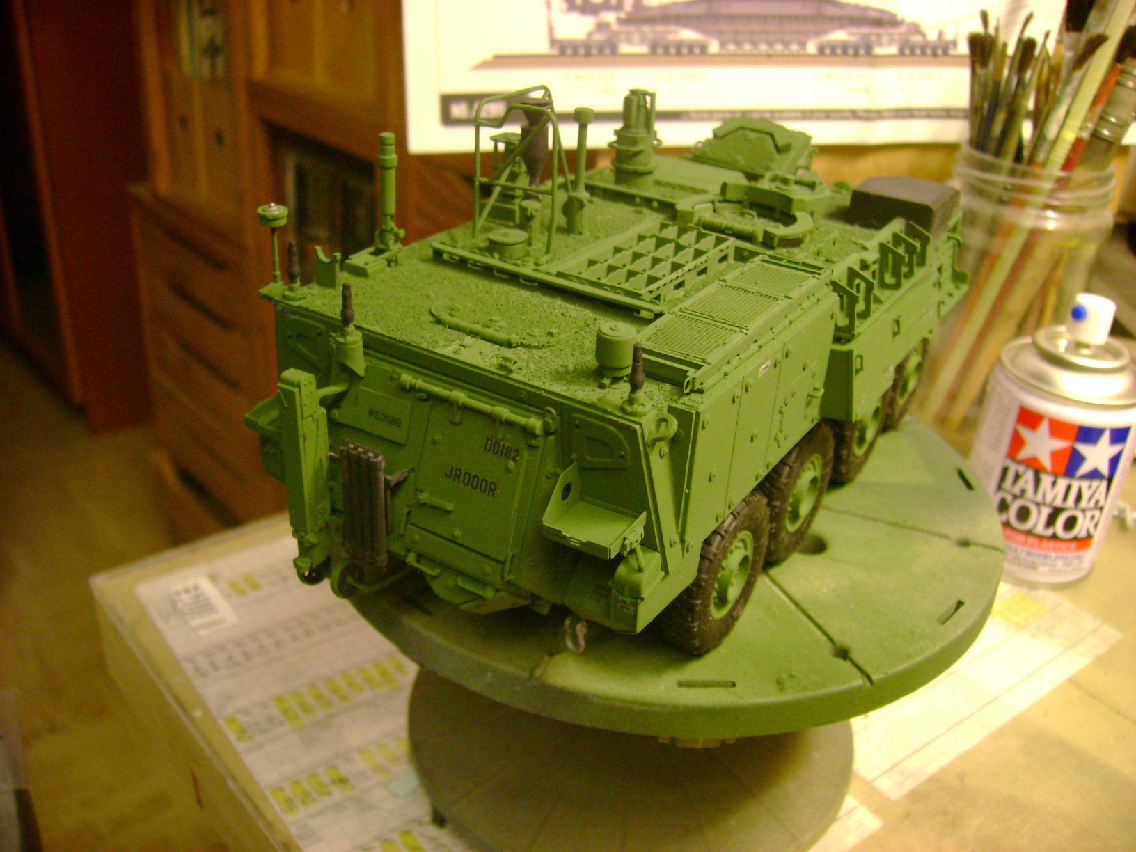 M1135 Stryker NBC RV 1/35 Trumpeter....Terminer Up du 29/10... - Page 3 71992612