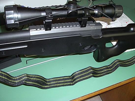 [Warrior  L96 type sniper OD]  +lunette 3-9x40mm+bi pied Lunettemonthi6