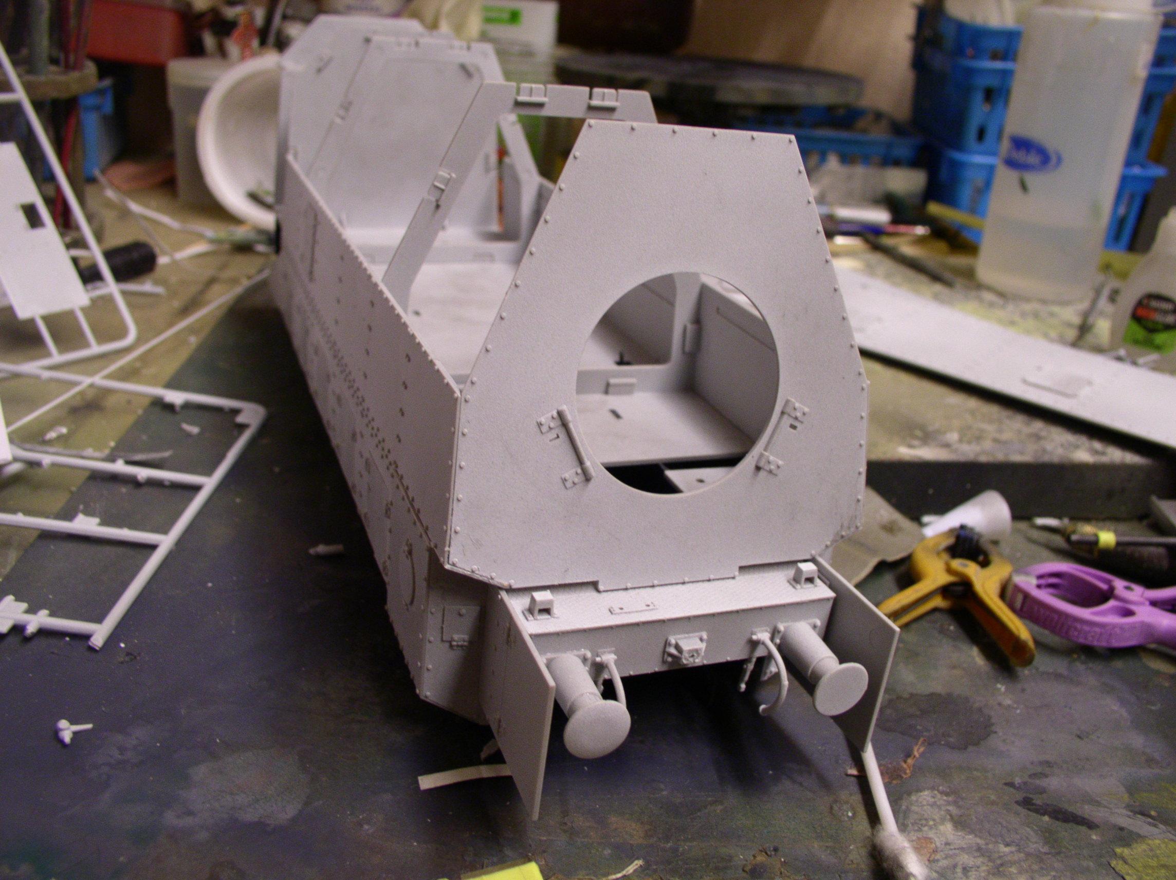 peinture - (Thunderbird) BR 57 Baureihe Panzerlok (Peinture en cours)  - Page 2 32119522