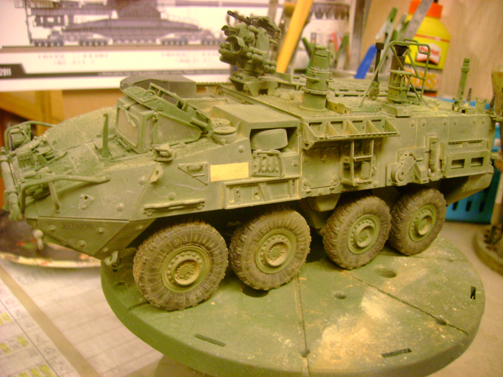 M1135 Stryker NBC RV 1/35 Trumpeter....Terminer Up du 29/10... - Page 3 36281342