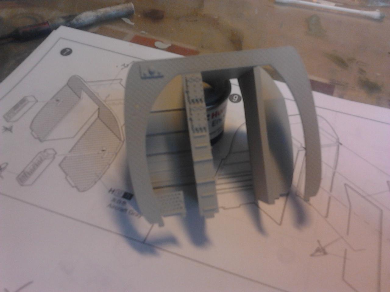 """CH-47D """" Chinook""""....Début de montage...1/35 Trumpeter.Up du 05/05... 40003197"""