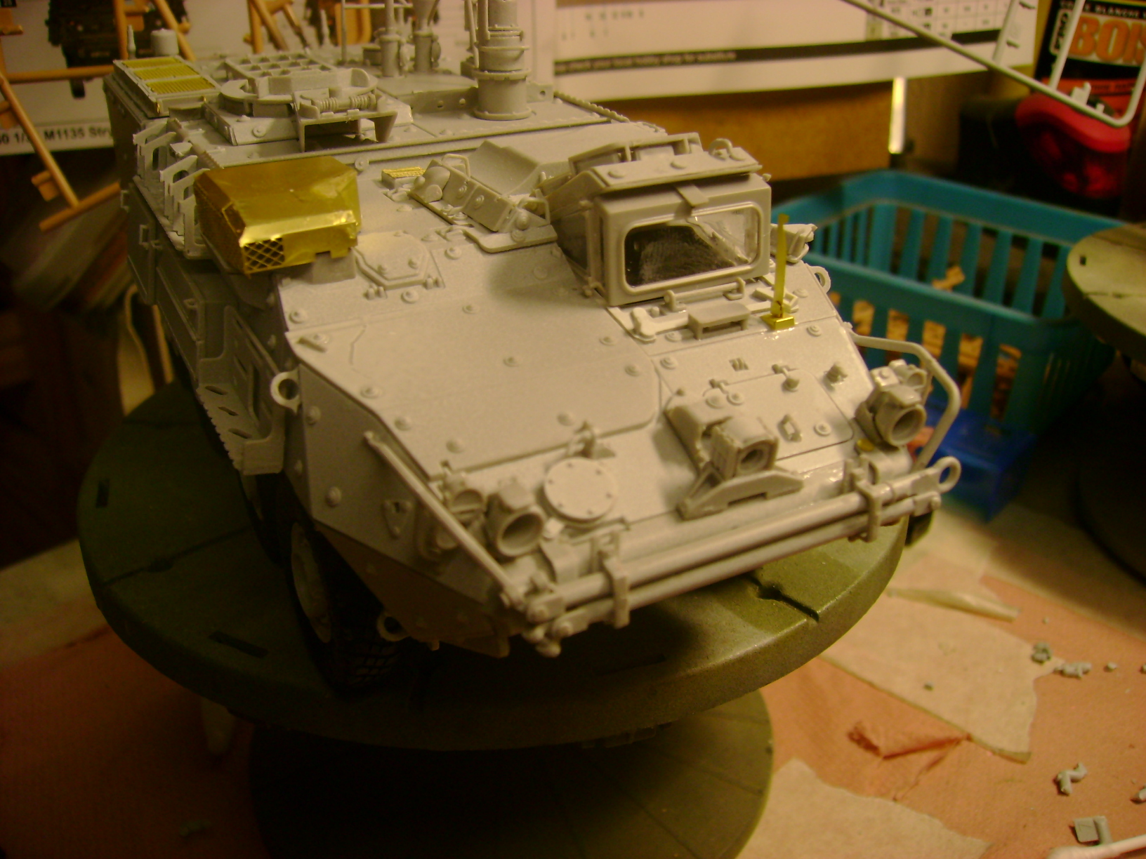 M1135 Stryker NBC RV 1/35 Trumpeter.... Terminé.... 35638750