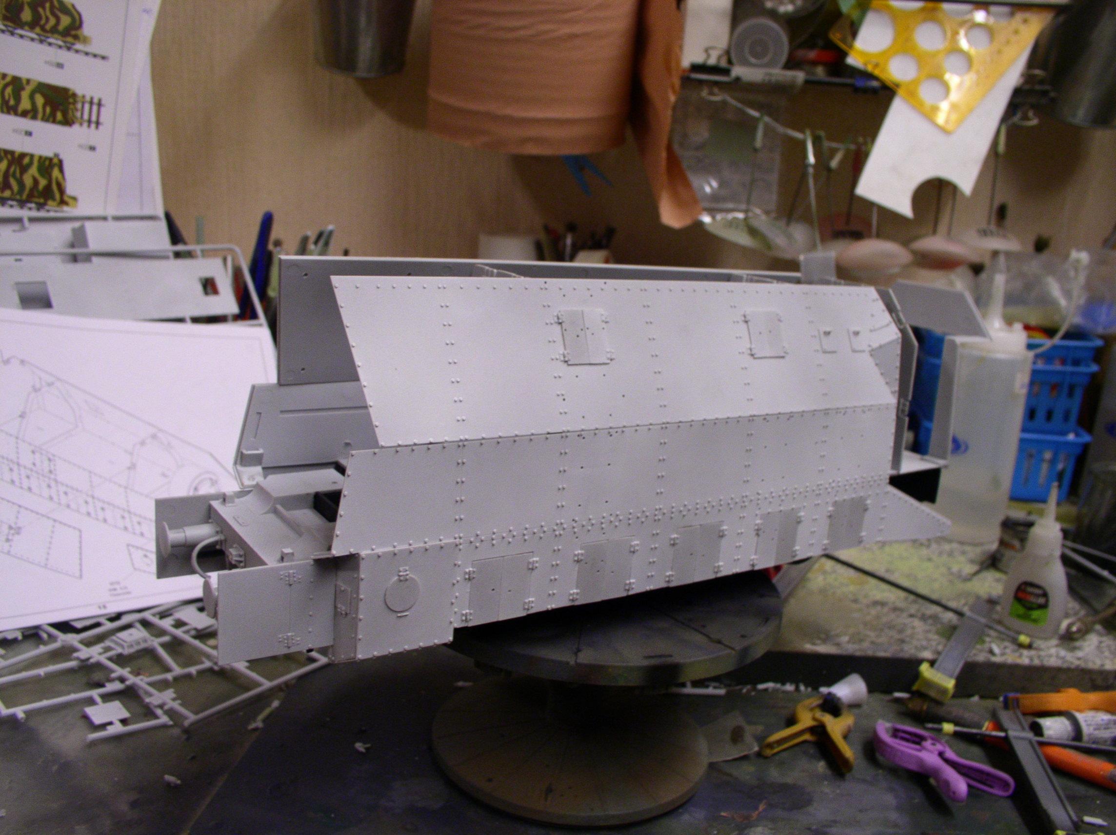 peinture - (Thunderbird) BR 57 Baureihe Panzerlok (Peinture en cours)  - Page 2 98473379