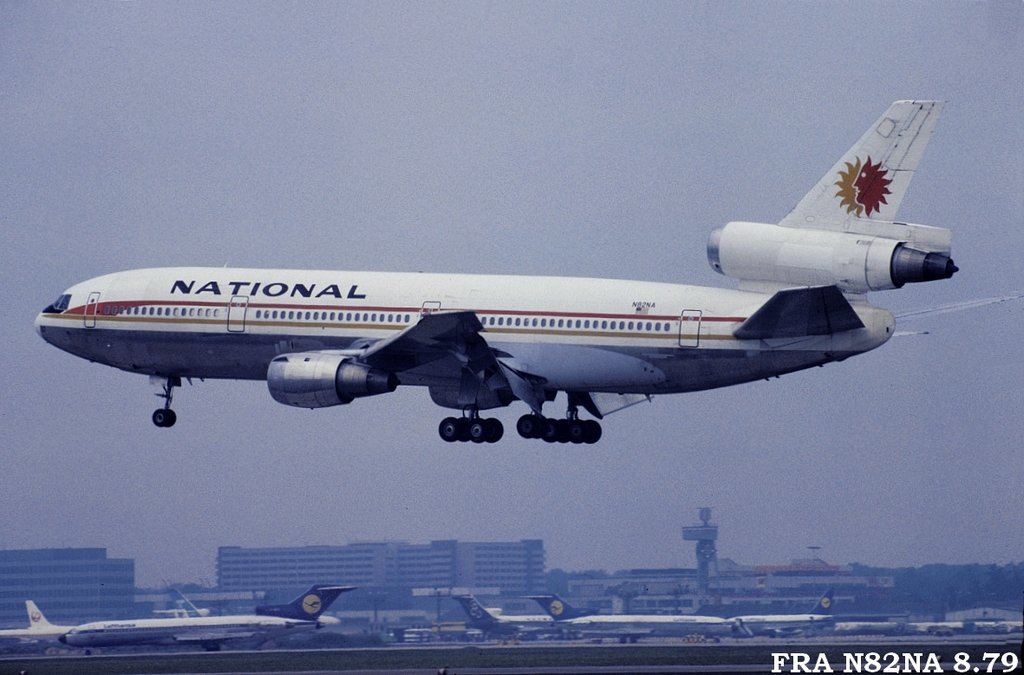 DC-10 in FRA Fran82nac