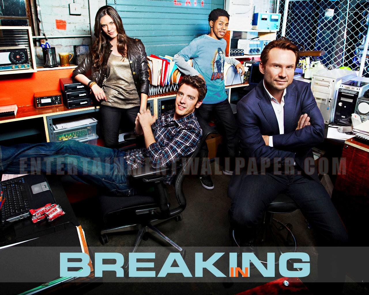 Breaking In S01 DVDRip | S02 HDTV Tvbreakingin02