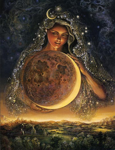 Josephine Wall Moongoddess