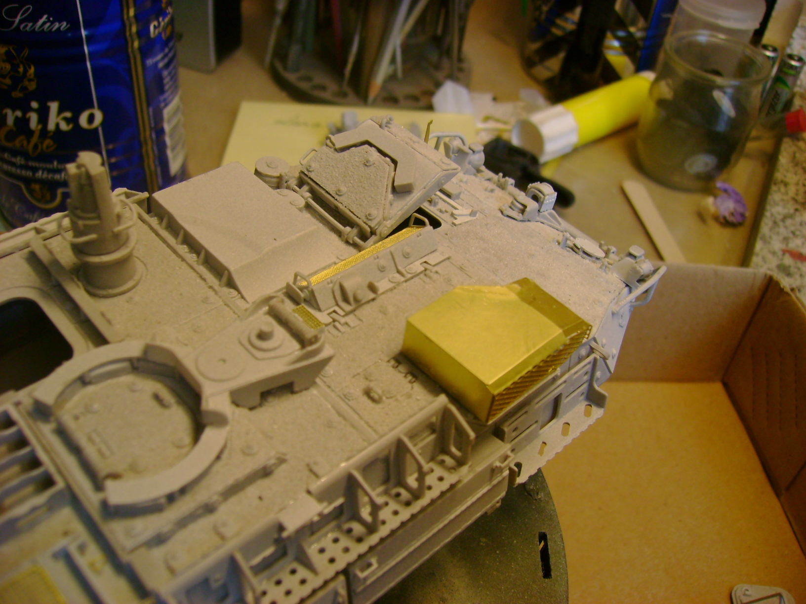 M1135 Stryker NBC RV 1/35 Trumpeter....Terminer Up du 29/10... - Page 2 30194179