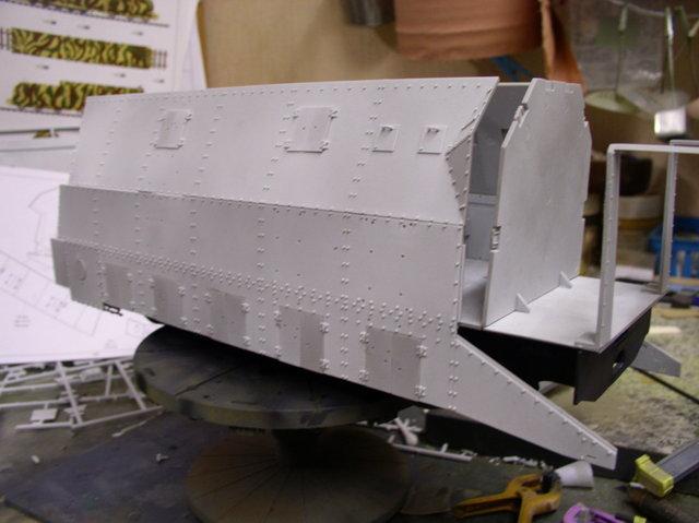 peinture - (Thunderbird) BR 57 Baureihe Panzerlok (Peinture en cours)  - Page 2 17736014