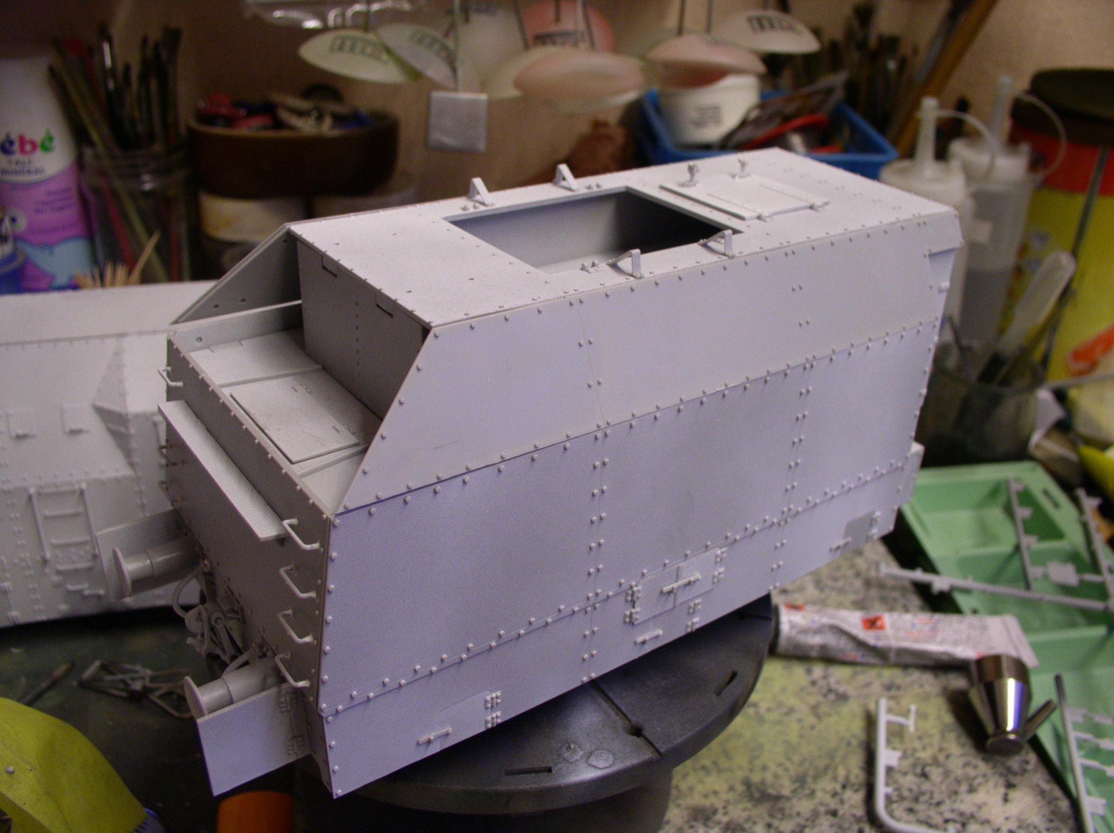 peinture - (Thunderbird) BR 57 Baureihe Panzerlok (Peinture en cours)  - Page 2 127lf