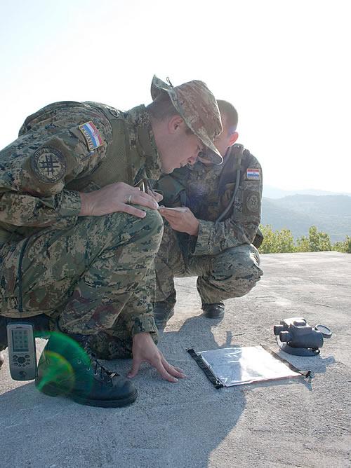 Forces Armées Croates /Croatian military /Oružane Snage Republike Hrvatske 2011100431011100