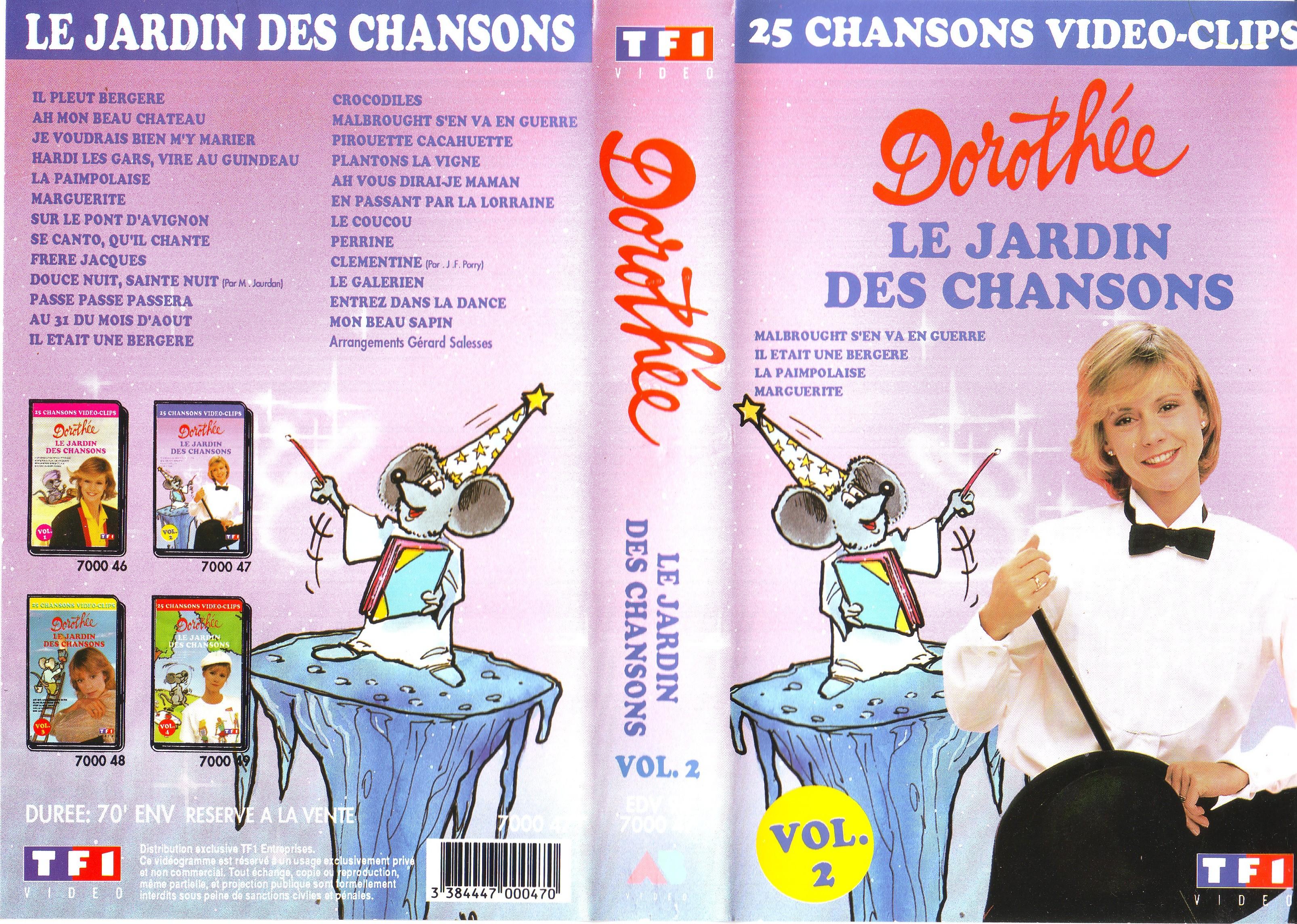 Dorothée et AB Productions (Récré A2 - Club Dorothée) Jardindeschansons942