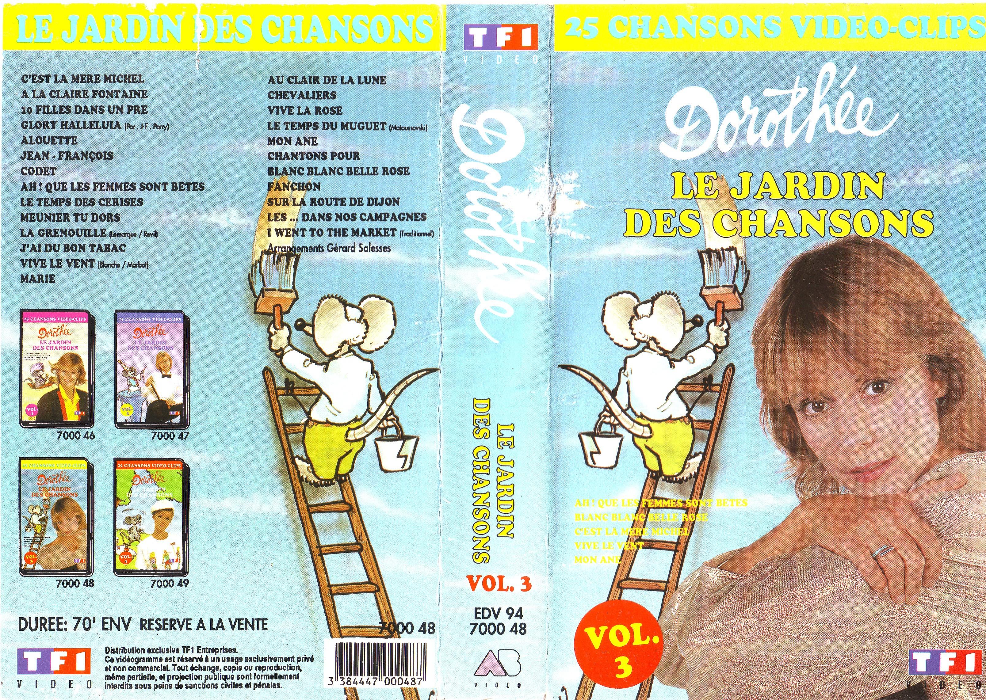 Dorothée et AB Productions (Récré A2 - Club Dorothée) Jardindeschansons943
