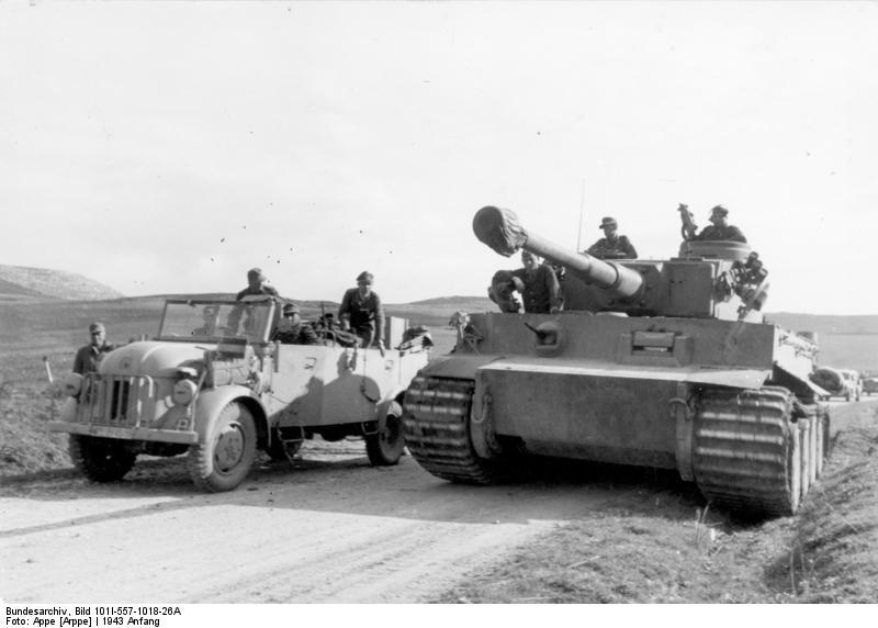 Tiger I du sPzAbt. 501 en Tunisie 1943 Tigerinr131spzabt501nor