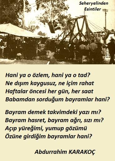 Bayramlar Bayram Ola - 2  ( Abdurrahim Karakoç) Hjtq
