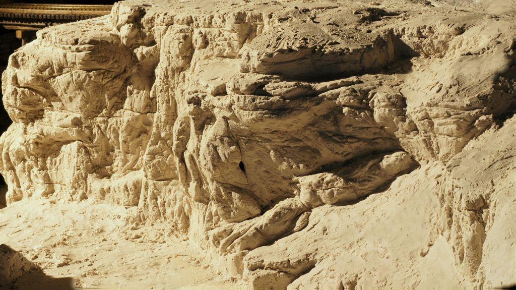 Felsen Ritzen bis zum abwinken Felswandstack