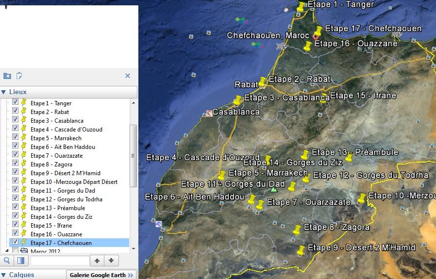 Maroc Mars 2013 Projetit