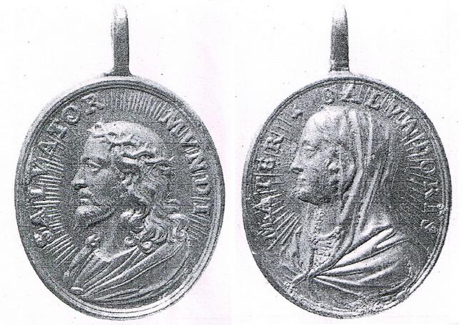Recopilación medallas con el Rostro de Cristo ( Salvator Mvndi II) 8u43