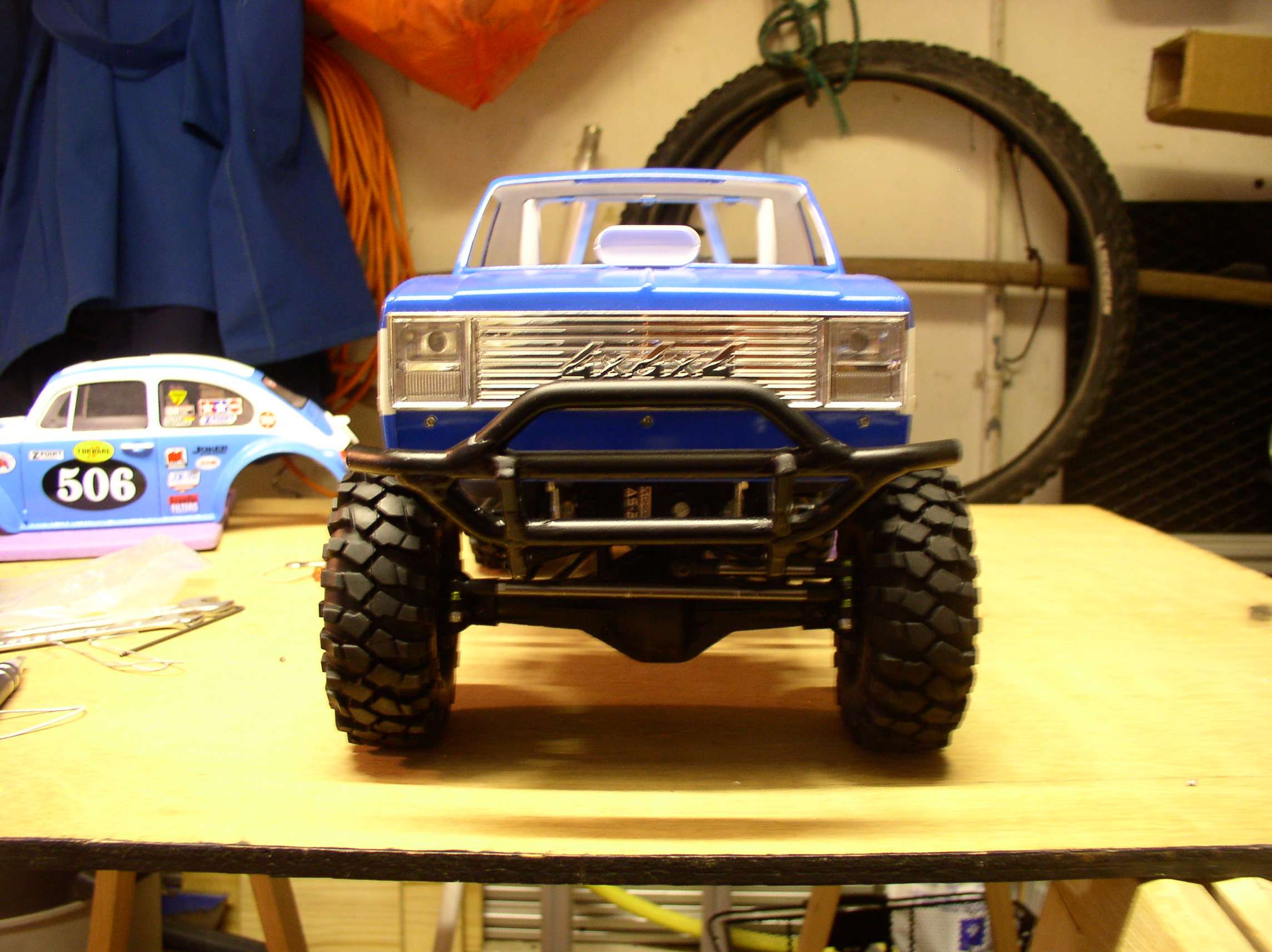 "[ SCX10 Axial ] CHEVROLET K5 Pick-up, benne rallongée.""TERMINE"" - Page 2 P1010008z"