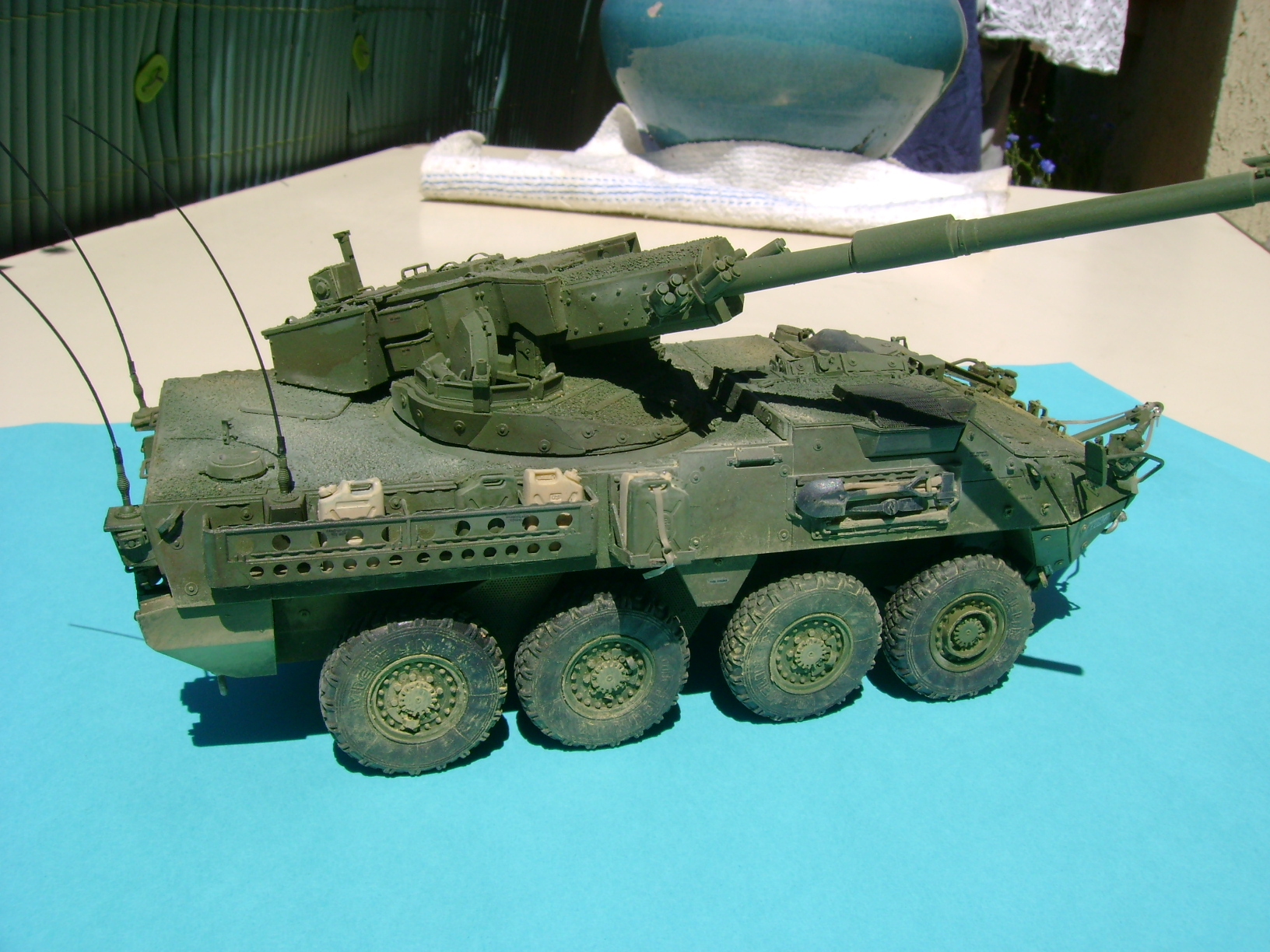 Stryker M1128 MGS ( Montage en cours ) Thunderbird - Page 2 61517774
