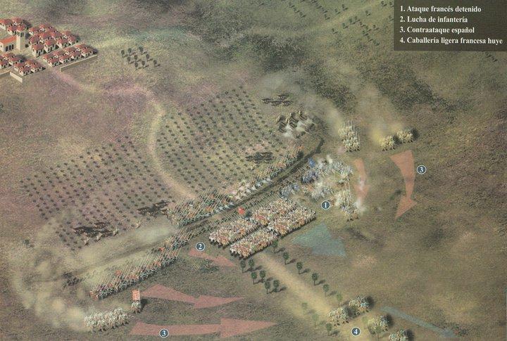 La batalla de Ceriñola (1503) Bel8