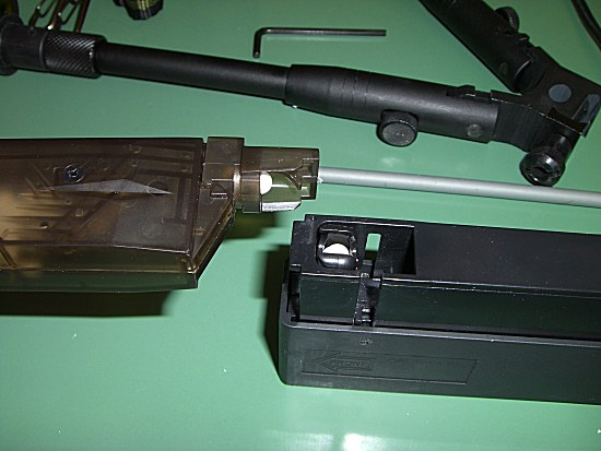 [Warrior  L96 type sniper OD]  +lunette 3-9x40mm+bi pied Chargeurmagasinyt2