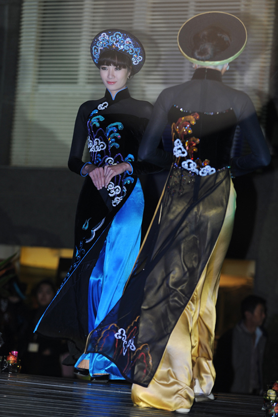 2 bộ sưu tập áo dài Aodaii