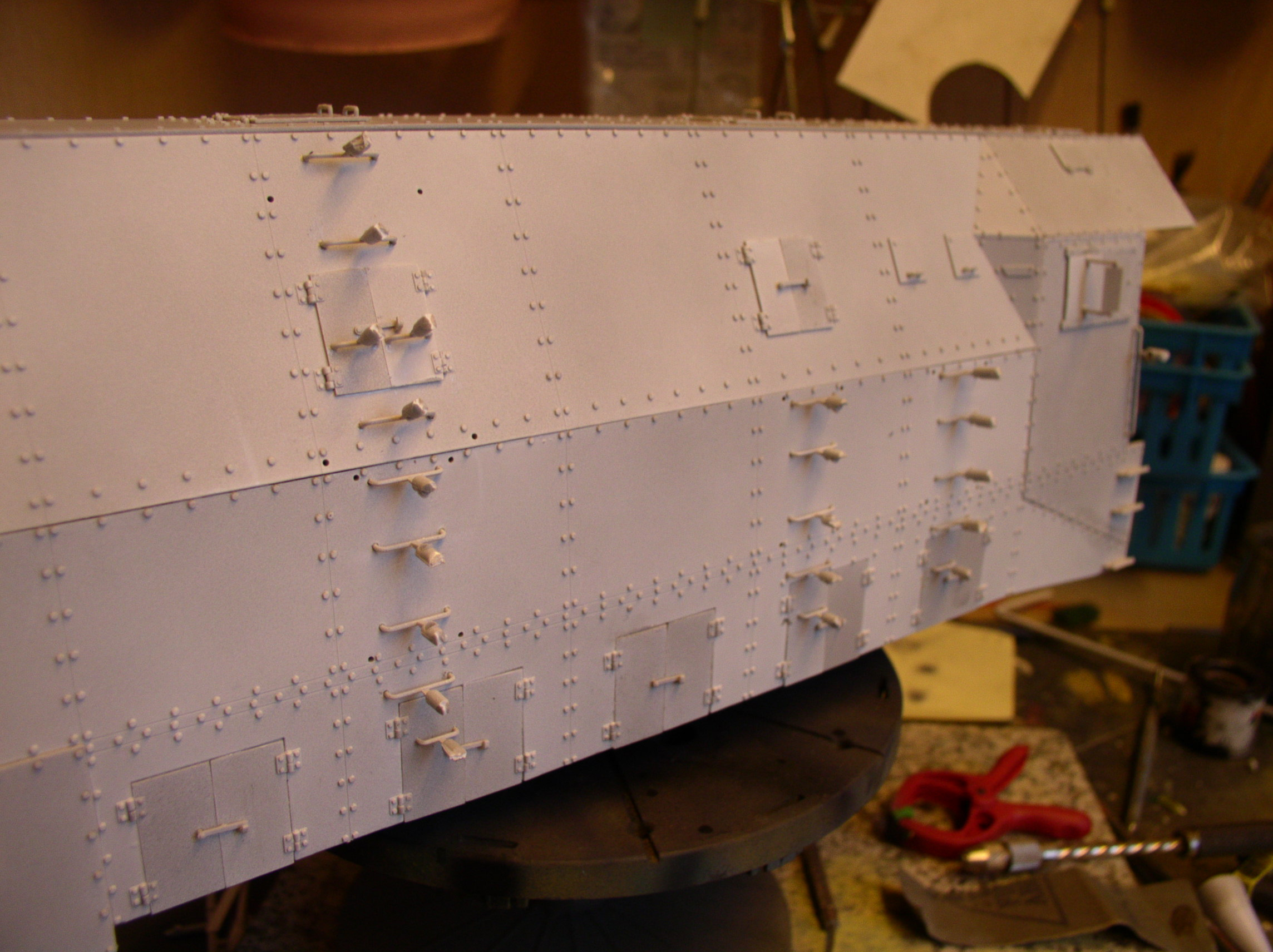 peinture - (Thunderbird) BR 57 Baureihe Panzerlok (Peinture en cours)  - Page 2 89021116