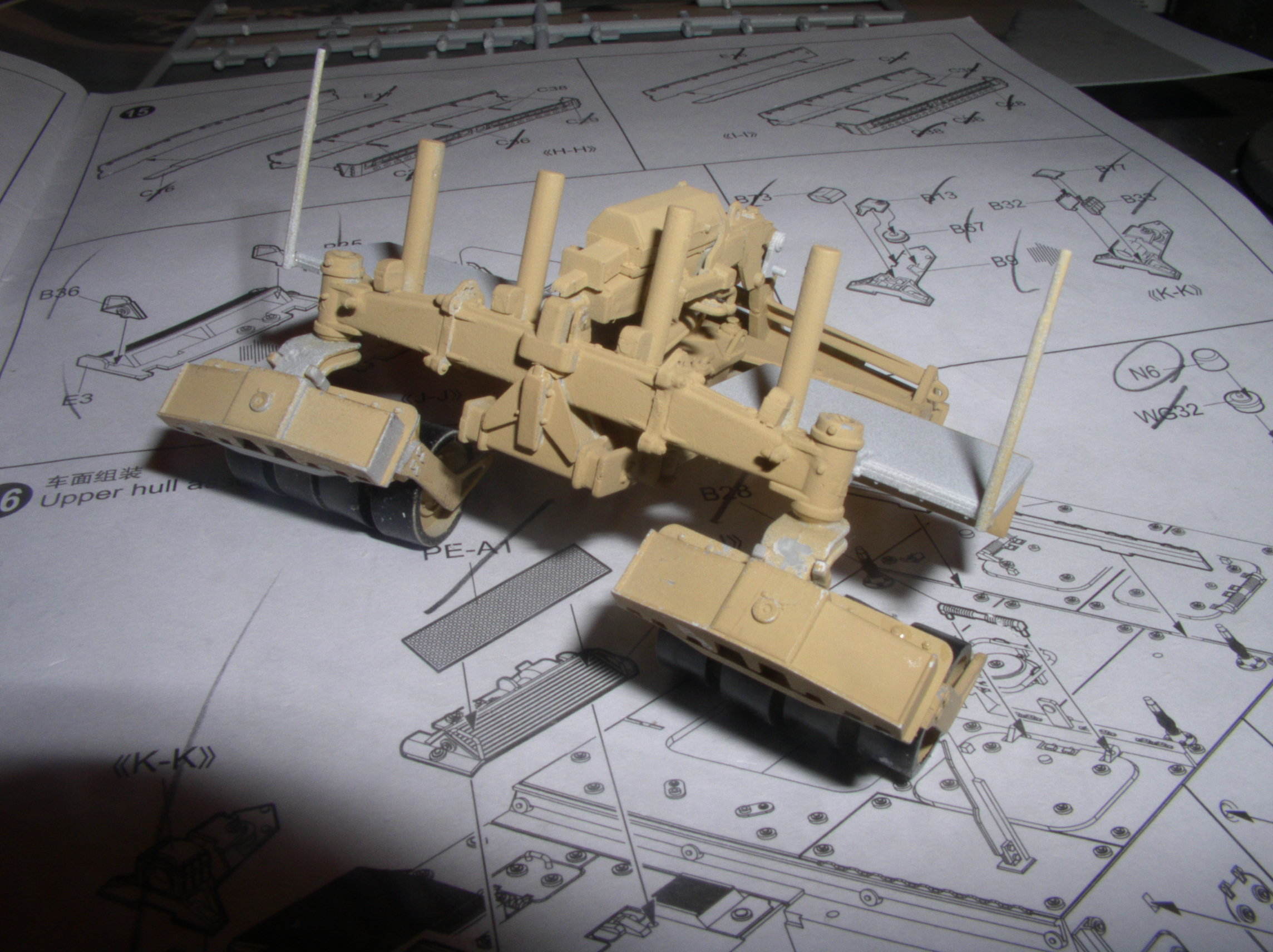 Stryker 1132 mine roller 1/35 Trumpeter Dio terminé 28679720