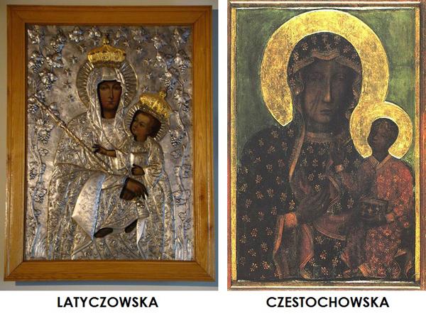 Virgen de Latyczowa  /  San Casimiro de Polonia (R.M. SXVIII-C67) Czestochowscalatyczowsk