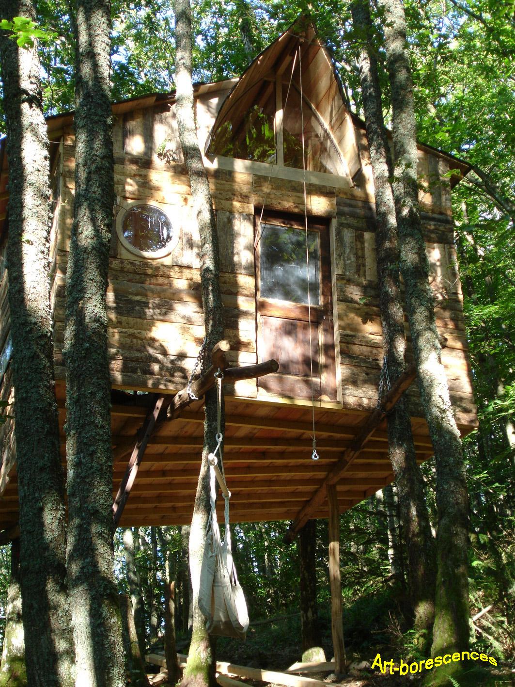 Construire une cabane en bois Cabane108