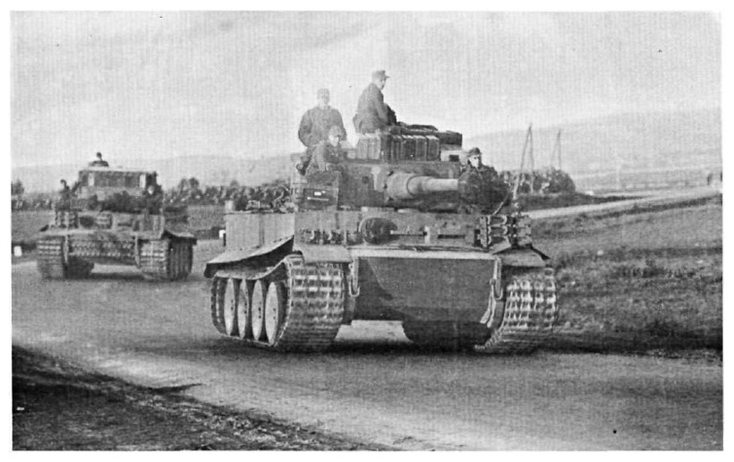 Tiger I du sPzAbt. 501 en Tunisie 1943 Tigerinr241et243spzabt5