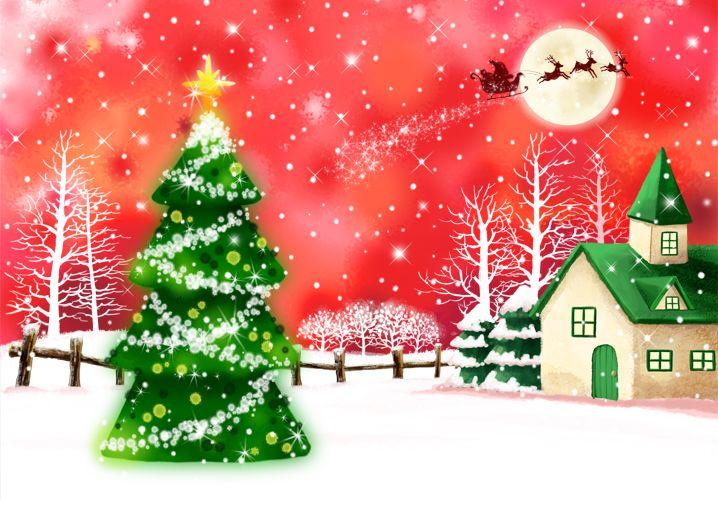 Paisaje de Navidad DPJFJo