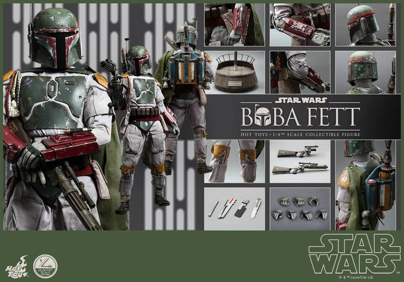 Hot Toys Star Wars - Boba Fett 1/4th Scale figure Yk0VHf