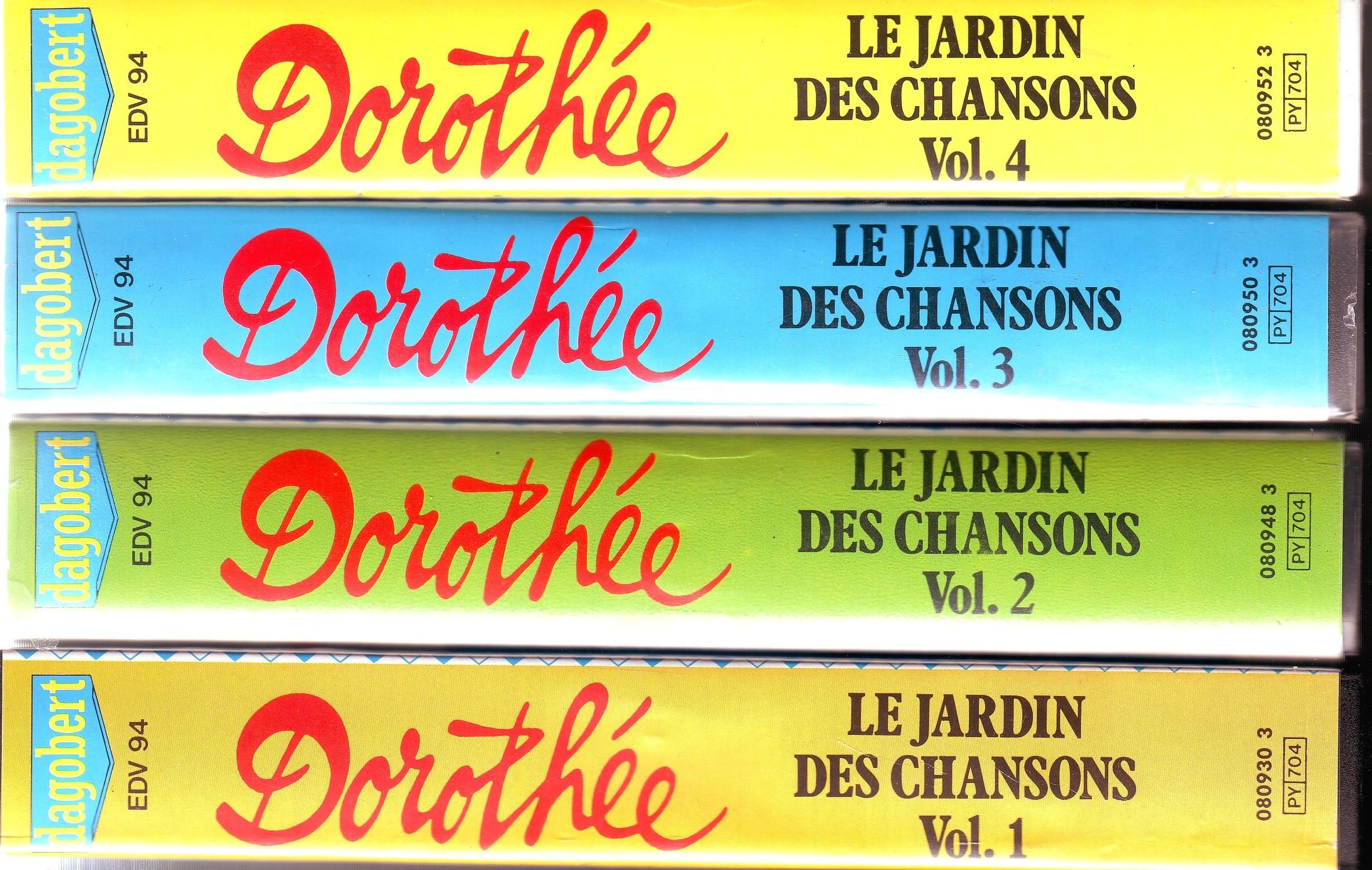 Dorothée et AB Productions (Récré A2 - Club Dorothée) Lejardindeschansons88