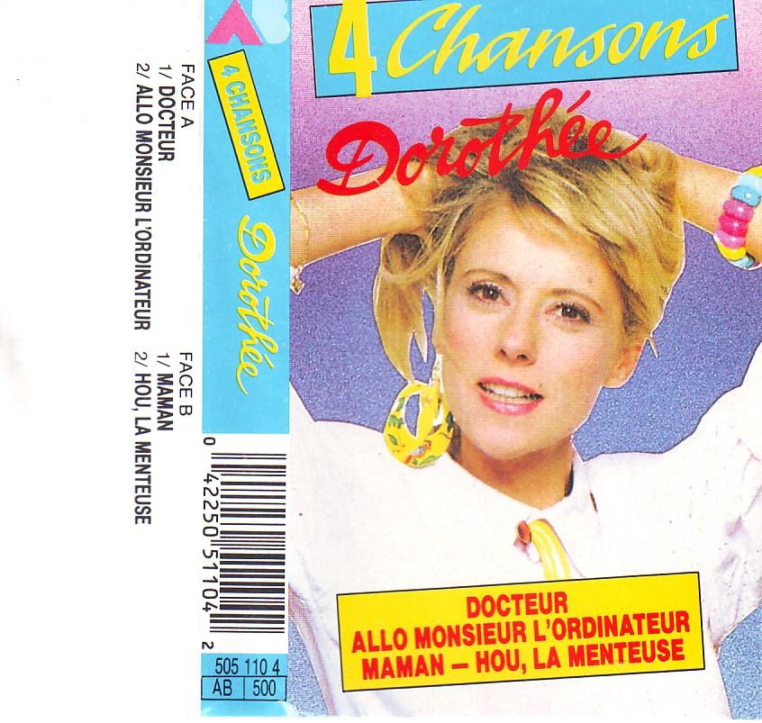 Dorothée et AB Productions (Récré A2 - Club Dorothée) Dorothee4titres5