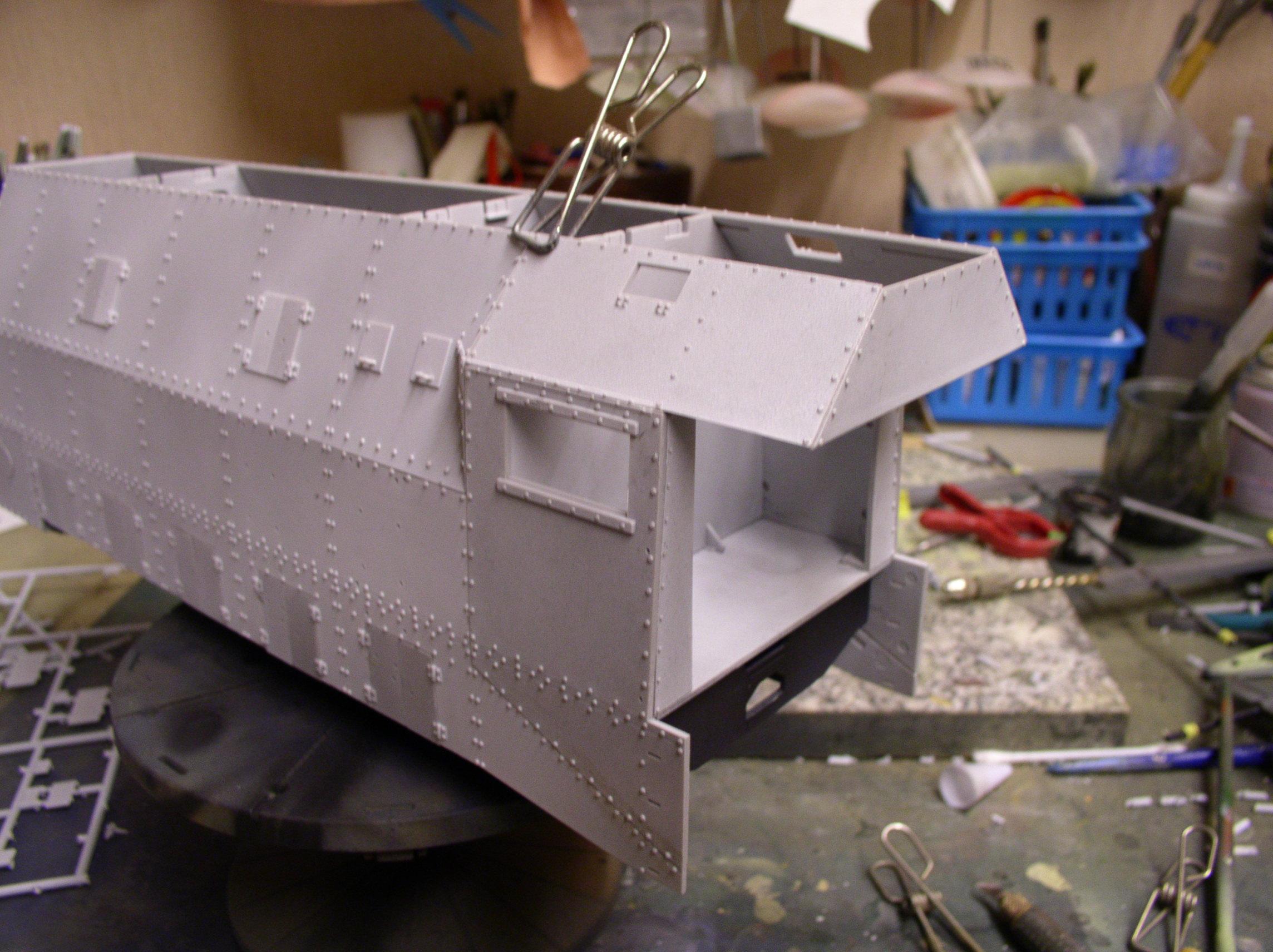 peinture - (Thunderbird) BR 57 Baureihe Panzerlok (Peinture en cours)  - Page 2 12990510