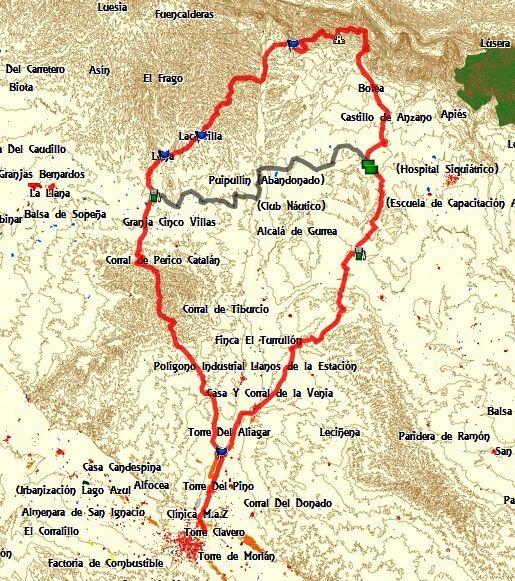 Ruta a CASTILLO DE LOARRE por Almudevar y vuelta por Sierra Estronad, Erla, Montes de Castejon. SABADO O DOMINGO Qqsa